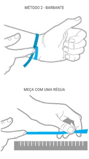 Como descobrir a medida do pulso ou tornozelo para comprar seu colar ou tornozeleira de âmbar